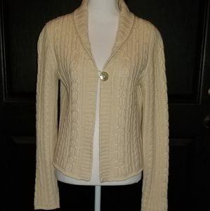 Sundance Catalog Cashmere Sweater Cardigan Small